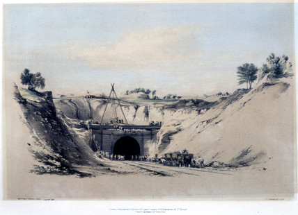 Watford Tunnel Face, Hertfordshire, 6 June 1837.