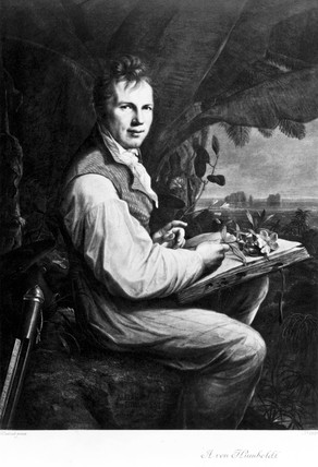 Alexander von Humboldt, German naturalist and explorer, c 1806.
