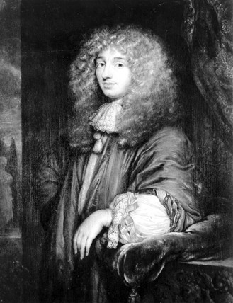 Christiaan Huygens, Dutch physicist, 1660s.