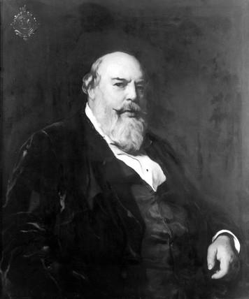 Sir Horace Jones, English architect, c 1870s.