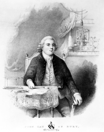 John Kay, English inventor, c 1755.