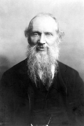 Lord Kelvin, Scottish engineer, physicist and mathematician c 1890s.
