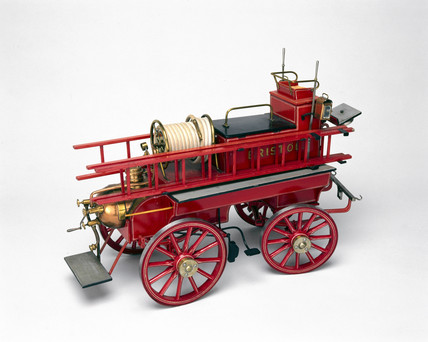 Chemical fire engine, 1902.