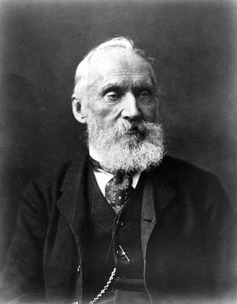 Lord Kelvin , Scottish engineer, physicist and mathematician, c 1900.