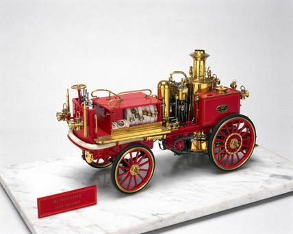 Steam fire engine, 1867.