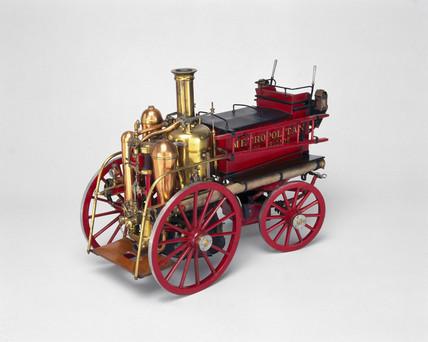 Steam fire engine, c 1905.