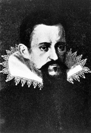 Johannes Kepler, German astronomer and physicist, c 1600.
