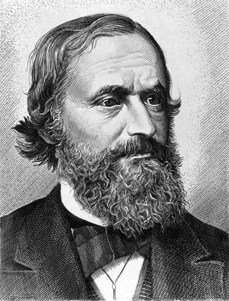 Gustav Robert Kirchhoff, German physicist, c 1870s.