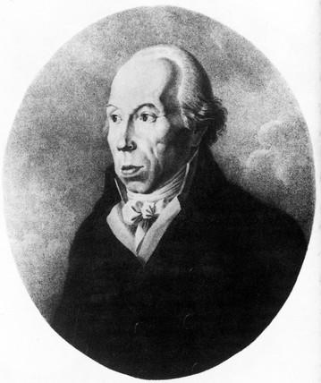 Martin Heinrich Klaproth, German chemist, late 18th century.