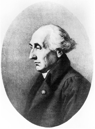 Joseph Louis Lagrange, Italian-born mathematician, c 1800.