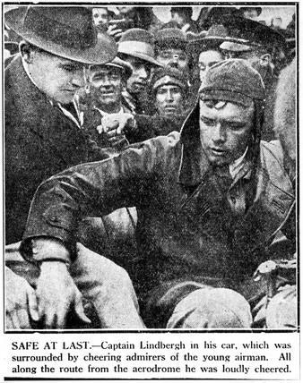 Charles Augustus Lindbergh, American pilot, c 1920s.