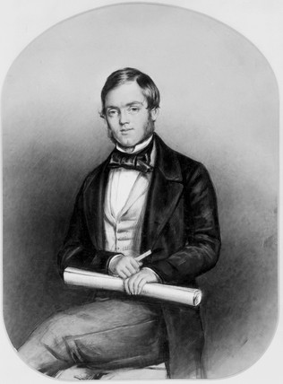 The son of Michael Loam, English engineer and inventor, 1853.