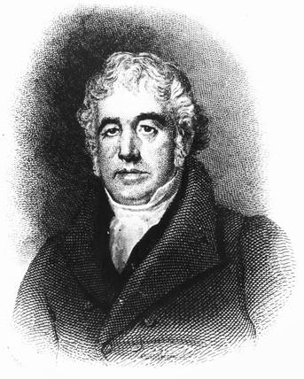 Charles Macintosh, Scottish industrial chemist and inventor, c 1820.