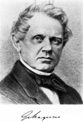 Heinrich Magnus, German chemist and physicist, mid 19th century.