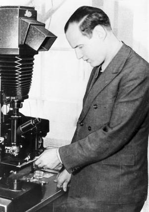 Hans Mahl, 1936.