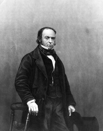 Isambard Kingdom Brunel, English engineer, c 1850s.