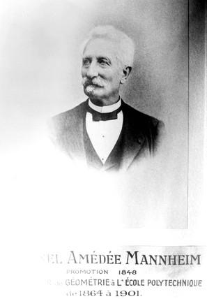 Amedee Mannheim, French mathematician, c 1901.