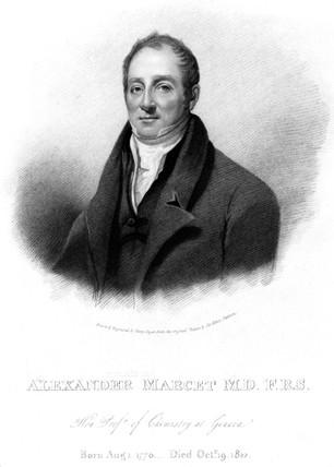 Alexander Marcet, Swis chemist, c 1810.
