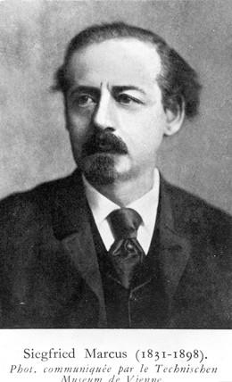 Siegfried Marcus, German inventor, c 1870s.