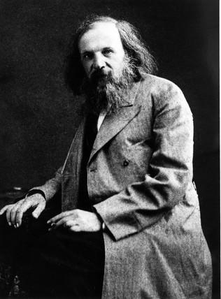 Dmitry Ivanovich Mendeleyev, Rusian chemist, c 1880s.