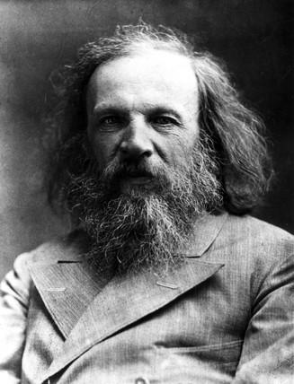Dmitry Ivanovich Mendeleyev, Rusian chemist, c 1900s.
