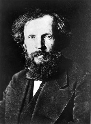 Dmitry Ivanovich Mendeleyev, Rusian chemist, c 1870s.