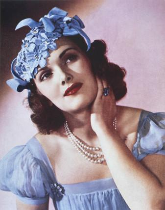 Portrait of a lady, c 1930s.