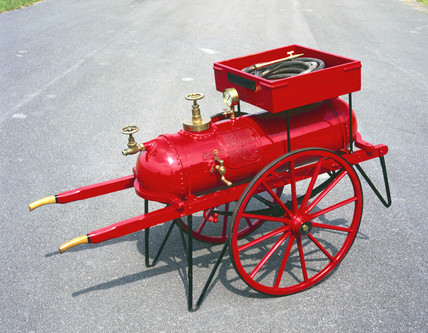 Chemical fire engine, 1927.