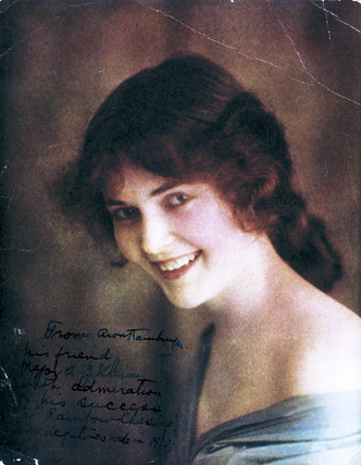Portrait of a young woman, 1912.