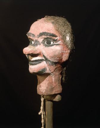 'Stookie Bill', Logie Baird's television dummy, c 1923.