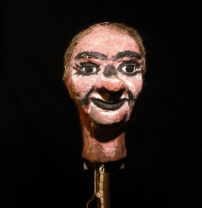 Stookie Bill, Logie Baird's television dummy, c 1923.
