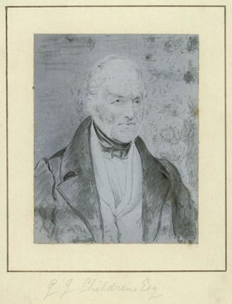 John George Children, English scientist, c 1841.