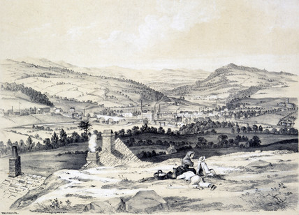 Brighouse, West Yorkshire, 1845.