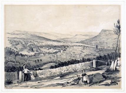 Hailfax, West Yorkshire, 1845.