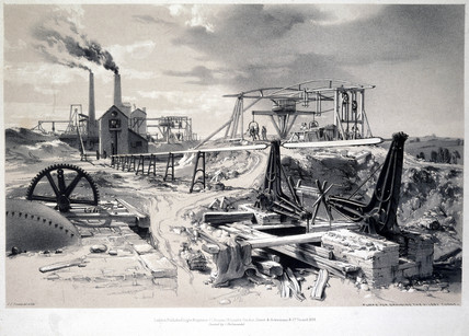 'Pumps, Ventilating Shaft, Kilsby Tunnel', Northamptonshire, 15 July 1837.