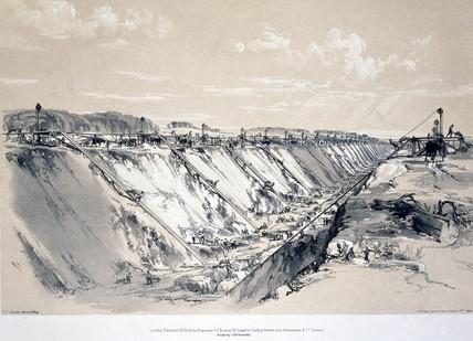 'Tring Cutting', Hertfordshire, 17 June 1837.