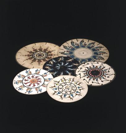 Phenakistoscope discs, c 1830.