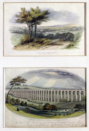 'The Great Viaduct, Brighton Railway', Susex, 1841.