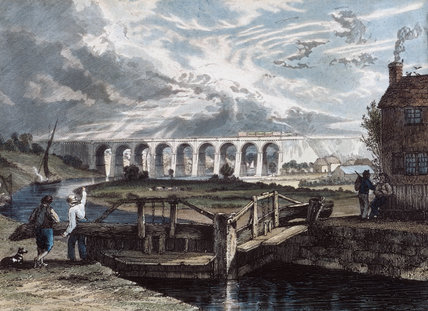 The Viaduct over the Sankey Canal, 1831.
