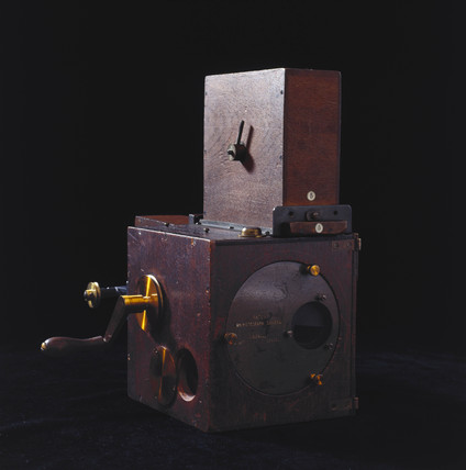Paul's patent Animatograph camera, c 1900.