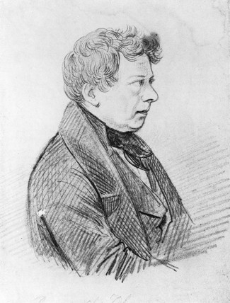 Georg Simon Ohm, German physicist, c 1820.
