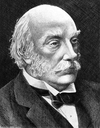 John William Rayleigh, British physicist, c 1890-1899.