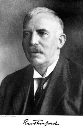Sir Ernest Rutherford, New Zealand-British physicist, c 1925-1935.