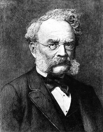 Ernst Werner von Siemens, German electrical engineer and inventor, c 1880.