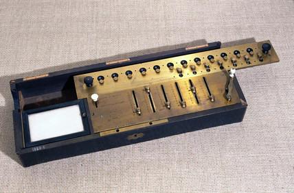 Thomas de Colmar's Arithmometer, 1867.