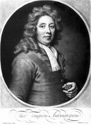 Thomas Tompion, English clock and watchmaker, c 1700s.