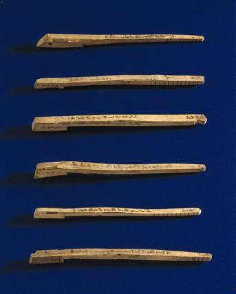 Tally Sticks, c 1440.