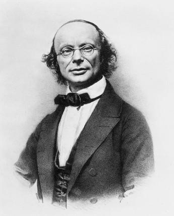 Wilhelm Eduard Weber, German physicist, c 1860s.