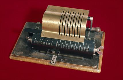 Brunsviga calculating machine, 1892.
