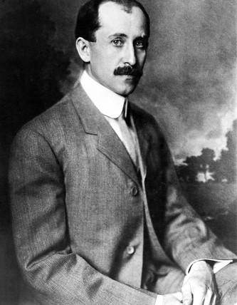 Orville Wright, American aviator, c 1905.